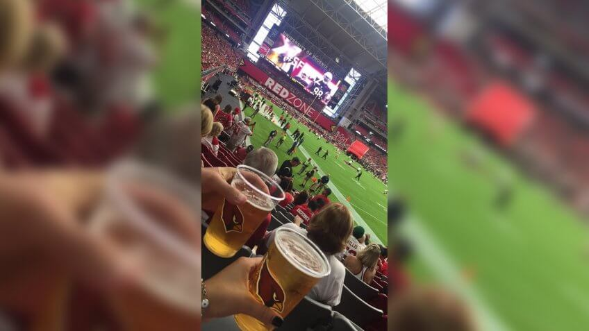 State Farm Stadium Arizona Cardinals baseball stadium