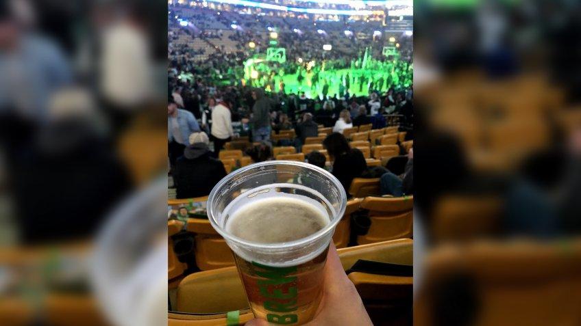 TD Garden Boston Celtics stadium food