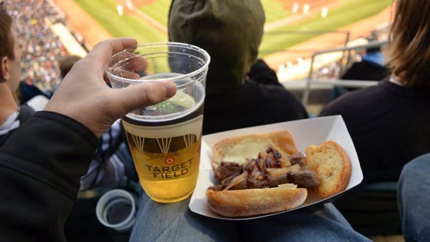 Target Field Minnesota Twins game day snacks