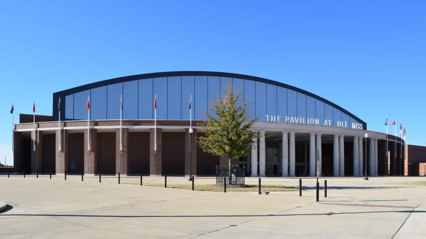 The Pavilion at Ole Miss Mississippi NCAA basketball