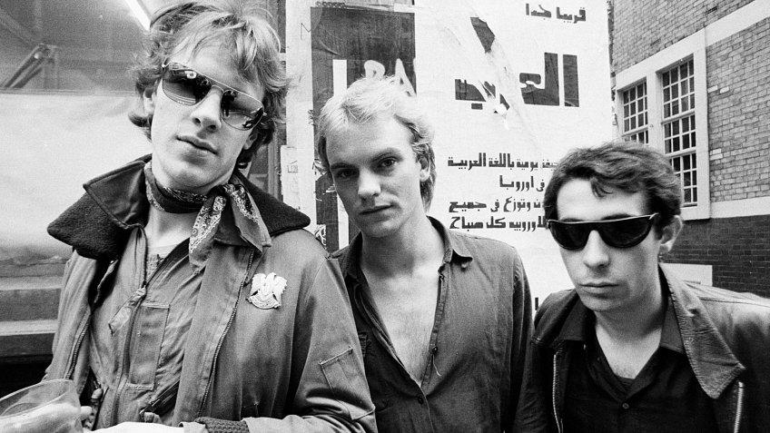 The Police - Sting, Henry Padovani, Stewart Copeland