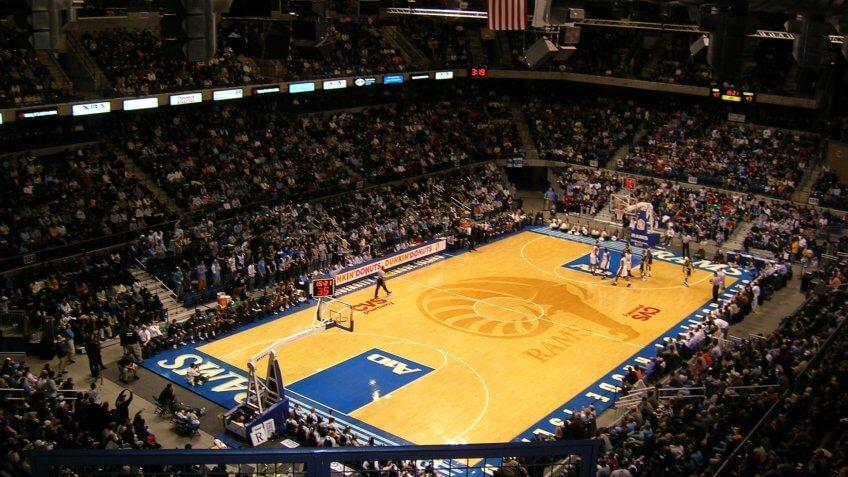 Thomas M. Ryan Center Rhode Island NCAA basketball