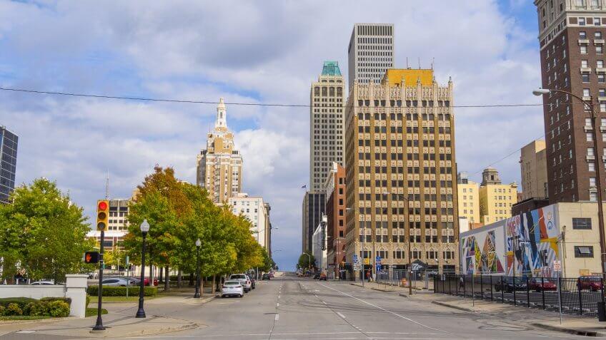 Tulsa Oklahoma downtown