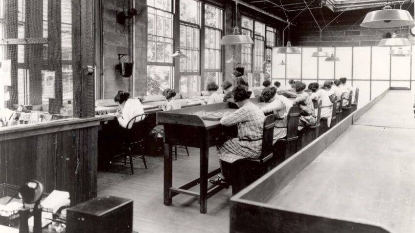 U.S. Radium Girls dial painters
