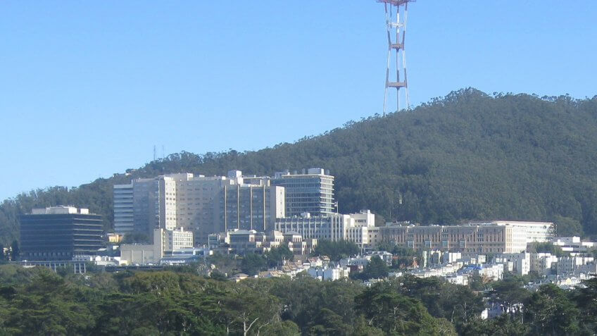 UCSF Medical Center in San Francisco California