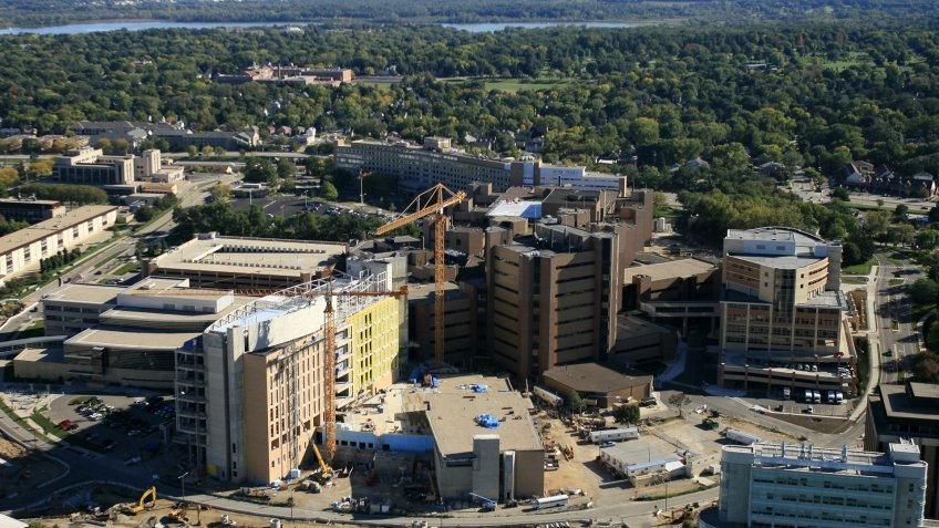 UW Health University Hospital in Madison Wisconsin