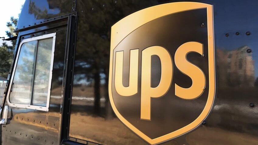 United Parcel Service UPS delivery