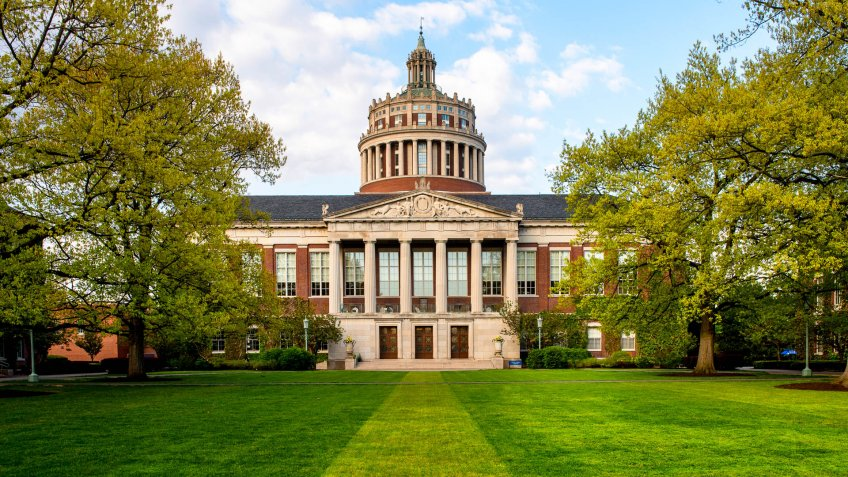 University of Rochester library in New York