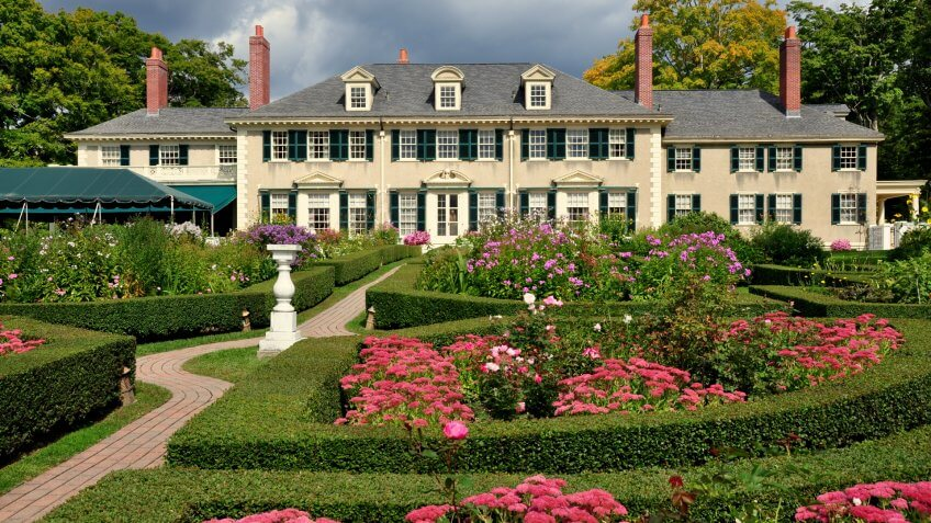 Vermont mansion
