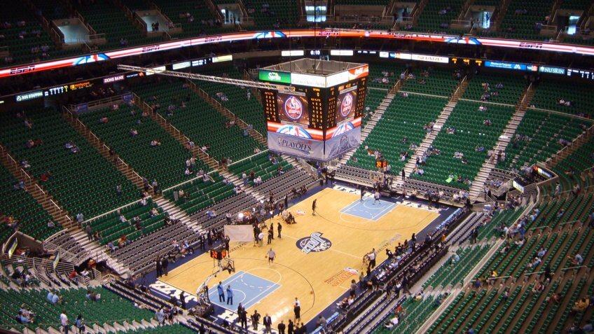 Vivint Smart Home Arena Utah Jazz