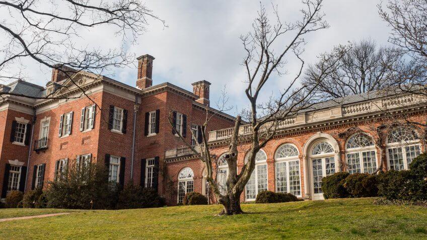 Washington DC mansion