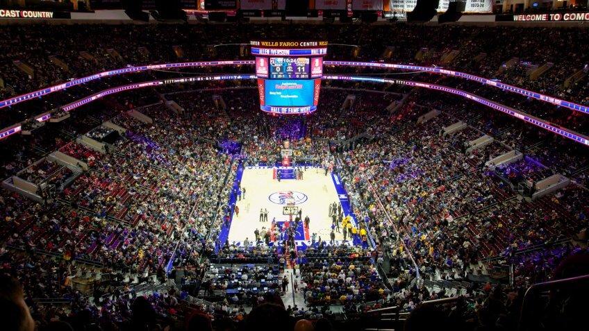 Wells Fargo Center Philadelphia 76ers