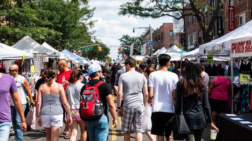 farmers market in Queens New York