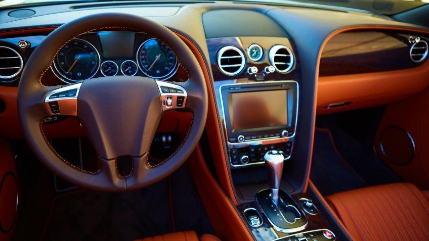 used luxury car