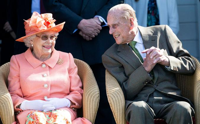Mandatory Credit: Photo by David Hartley/Shutterstock (9726146l)Queen Elizabeth II joined by Prince PhilipOut-Sourcing Royal Windsor Cup Polo match, Windsor, UK - 24 Jun 2018.