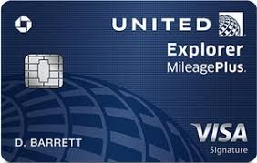 Chase United Explorer MileagePlus Card