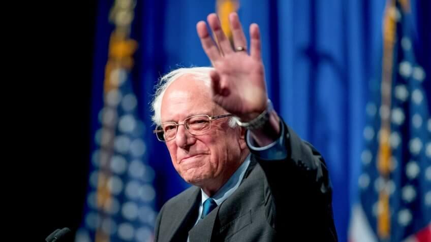 Election 2020 Bernie Sanders, Washington, USA - 12 Jun 2019