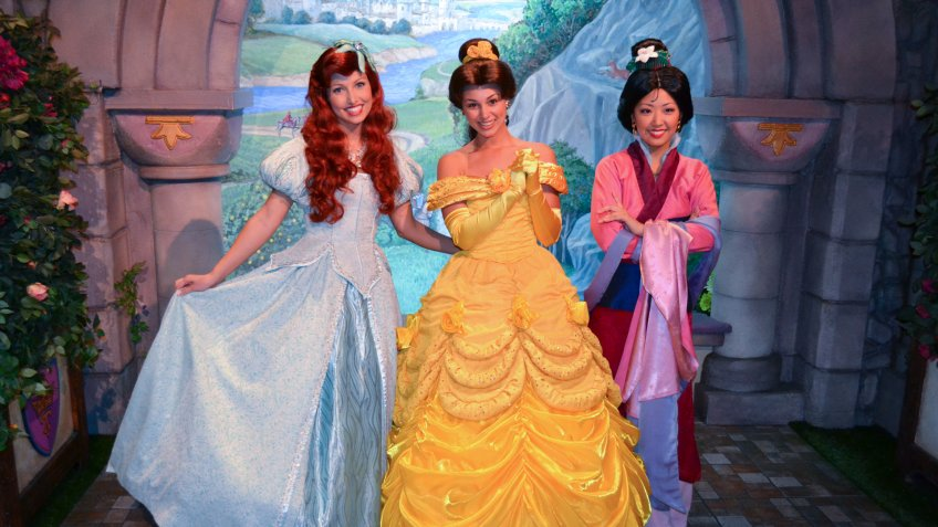 The Salaries of Disney Princesses, Mascots and More
