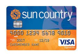 First Bankcard Sun Country Airlines Visa Signature Card