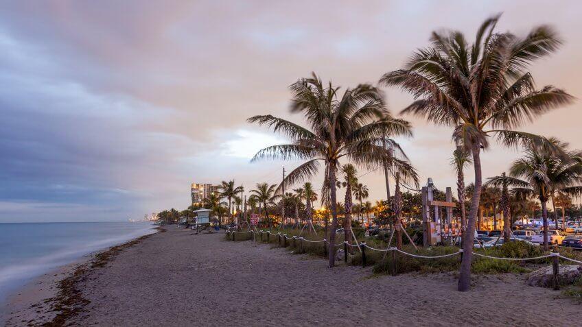 Hollywood Florida beach