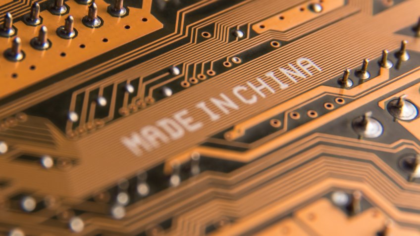 Made in China computer chip manufacturing