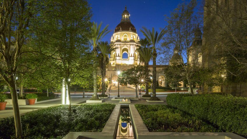 Pasadena California city hall