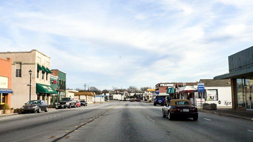 Richardson Texas main street