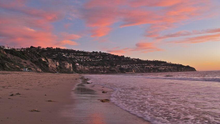 Torrance California beach sunset
