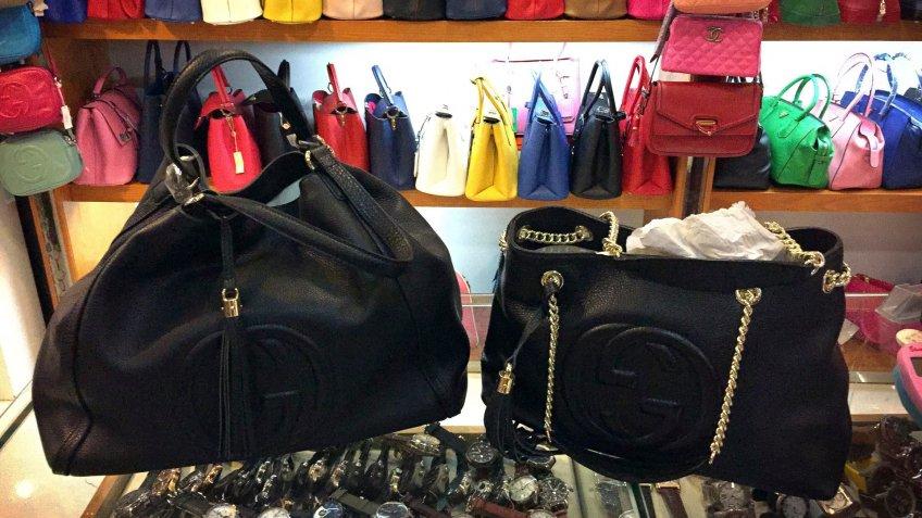 counterfeit handbags in Beijing China