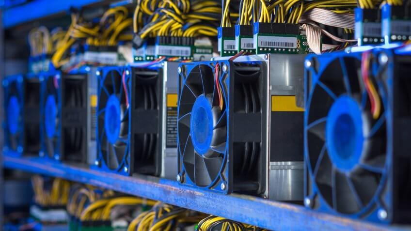 cryptocurrency blockchain mining
