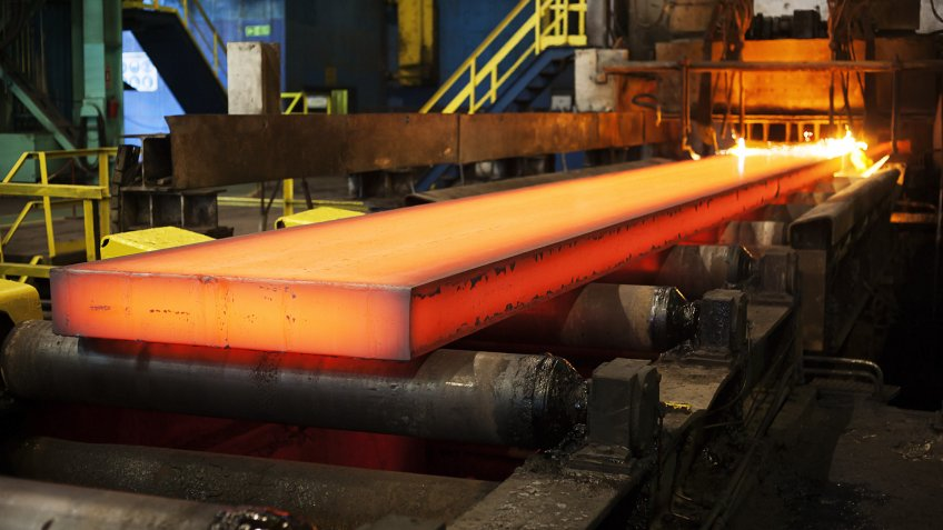 steel factory manufacturing industry