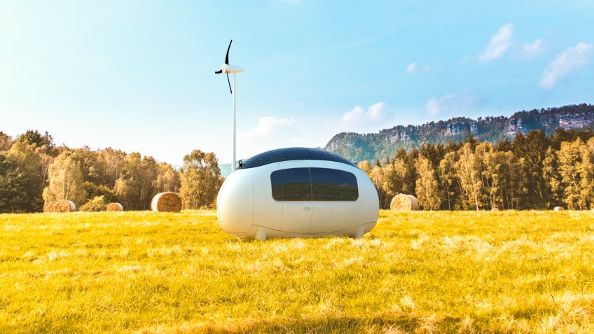 Ecocapsule self-sustainable microhome