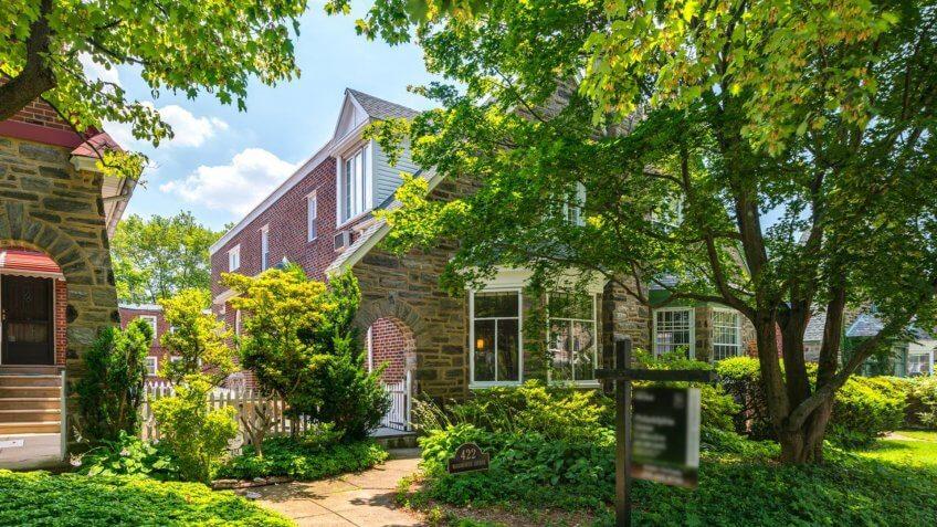 Tudor-Style Twin Home in Philadelphia