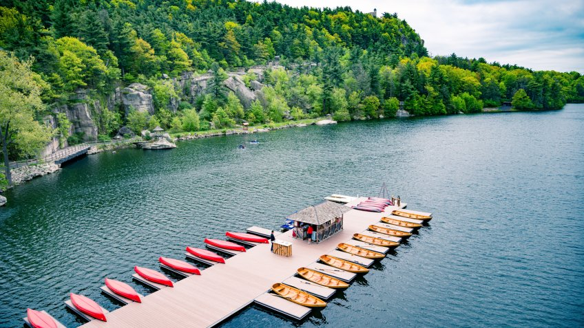 Vacation at Mohonk Mountain house - Image.