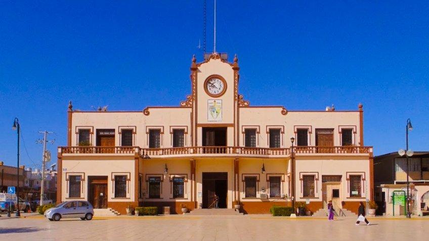 Palacio Municipal de Sabinas.