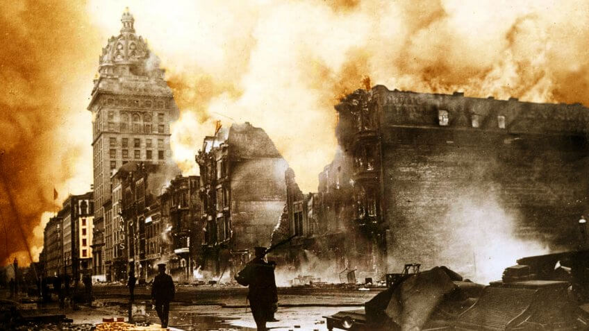 1906 San Francisco Earthquake California