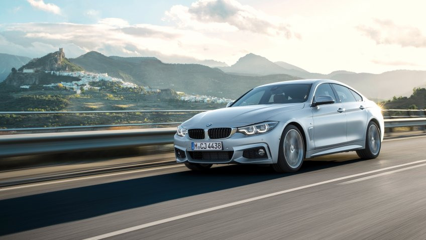 2018 BMW 4 Series M Sport Gran Coupe luxury car