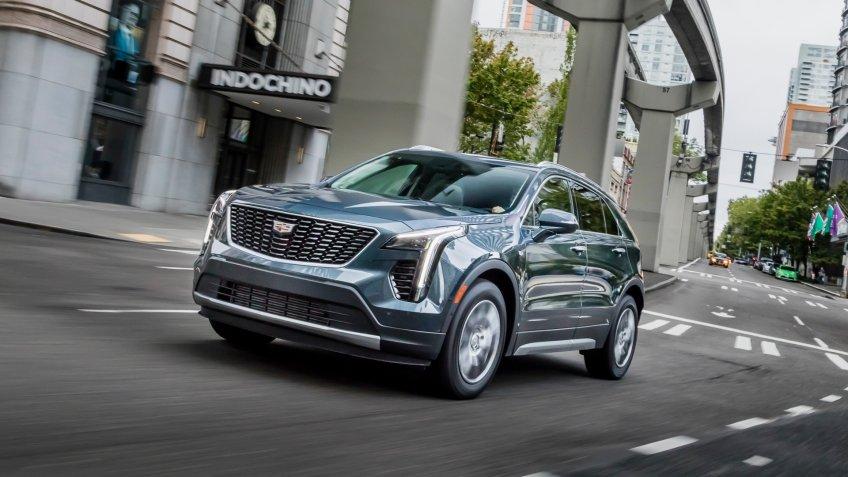 2019 Cadillac XT4 Premium Luxury.