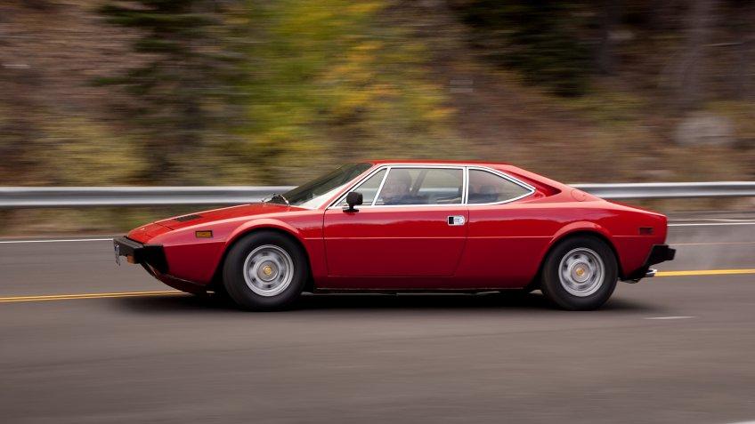 Mandatory Credit: Photo by Martyn Goddard/Shutterstock (4300986ii)Dino Ferrari 308 GTB 1975Motor.