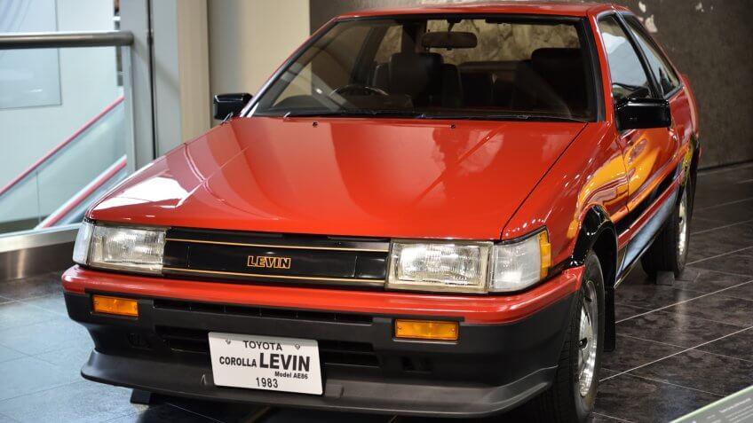 1983 Toyota AE86 Corolla Levin
