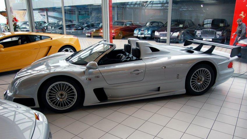 1999 Mercedes Benz CLK-GTR AMG