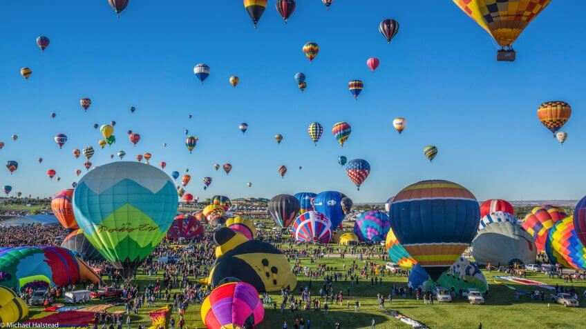 Albuquerque New Mexico Balloon Fiesta