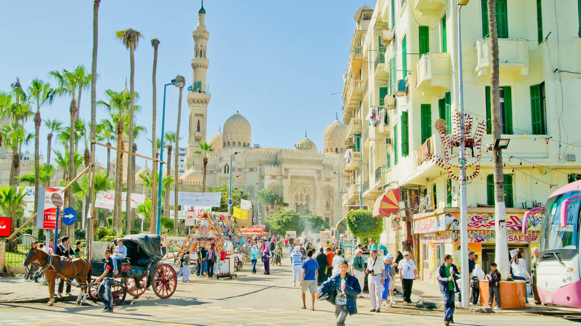 Alexandria Egypt market