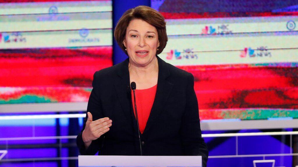 Mandatory Credit: Photo by Wilfredo Lee/AP/Shutterstock (10324136a)Democratic presidential candidate Sen.