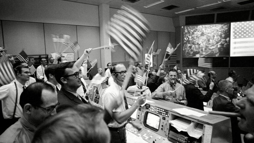 Apollo 11 Mission Operations Control Room