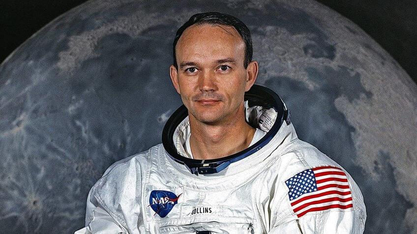 Astronaut Michael Collins Command Module Pilot Apollo 11