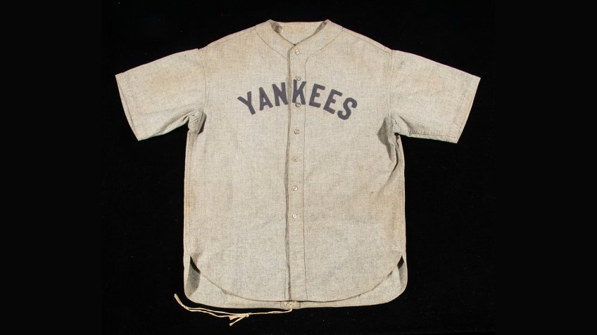 Babe Ruth's jersey from 1928-1930