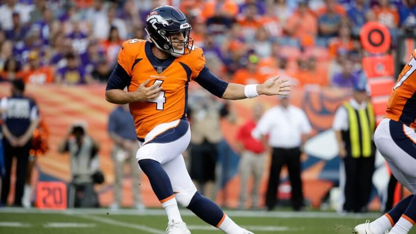 Case Keenum overpaid NFL player