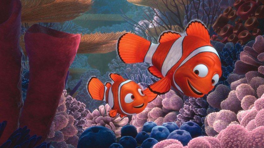 Finding Nemo blockbuster movie