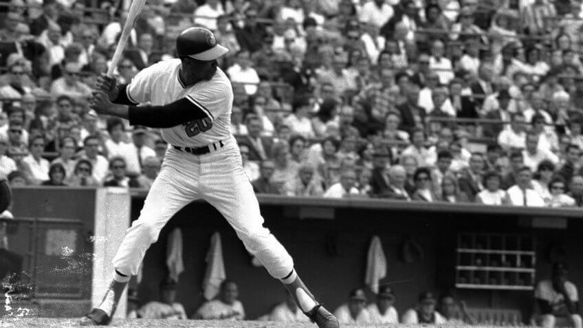 Frank Robinson Baltimore Orioles highest paid athlete